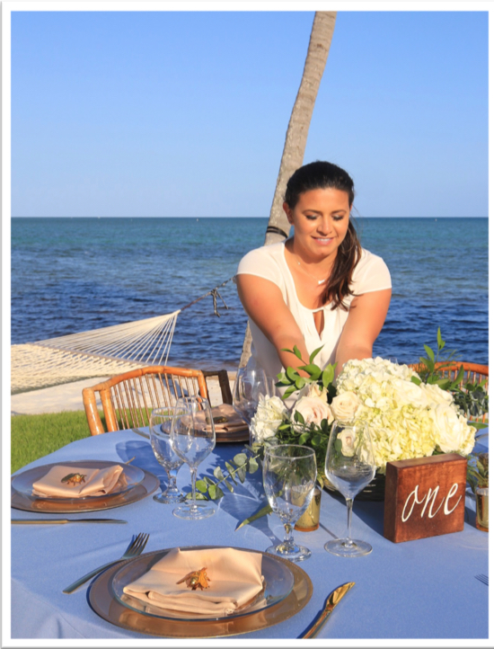 Fun facts about Luisa Benda, owner of Magnolia Weddings and Events in the Florida Keys.